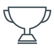 Icon of a trophy.