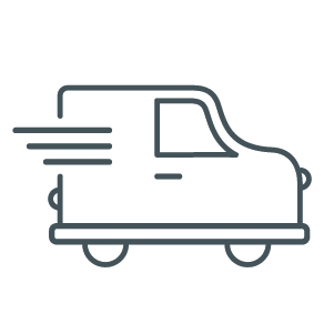 Icon of a delivery truck.